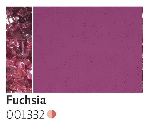 Fuchsia Transparent Frit (1332)-5 lbs.-Coarse-The Glass Underground