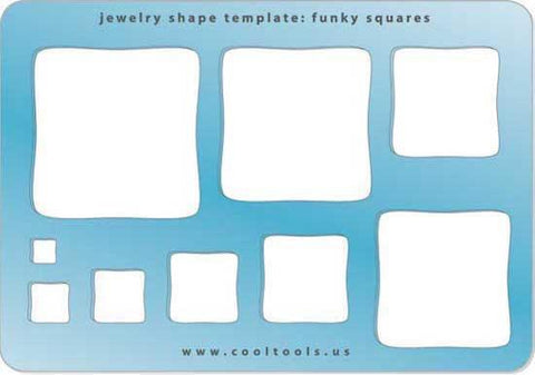 Funky Squares Shape Template-The Glass Underground