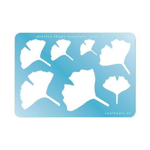 Gingko Leaves Template-The Glass Underground