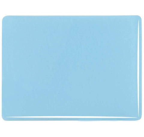 Glacier Blue Opal (104) 3mm-1/2 Sheet-The Glass Underground
