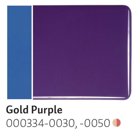 Gold Purple Opal (334) 2mm-1/2 Sheet-The Glass Underground