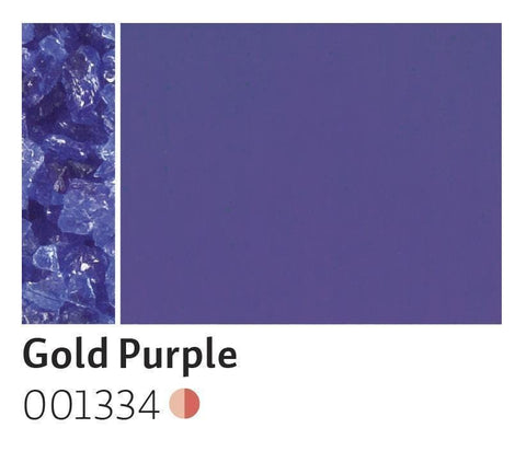 Gold Purple Transparent Frit (1334)-5 lbs.-Coarse-The Glass Underground