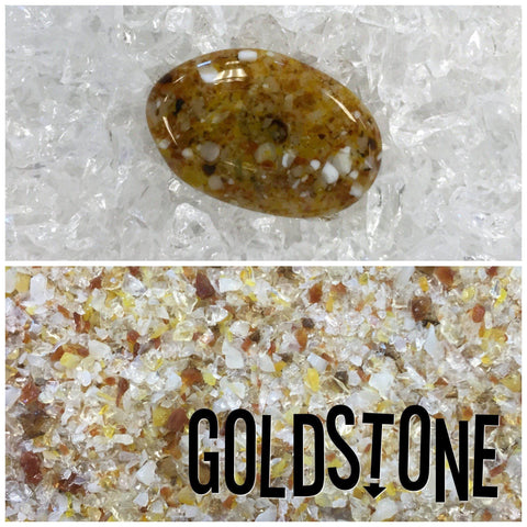 Goldstone Frit Mix-5 oz.-The Glass Underground