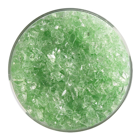 Grass Green Tint Transparent Frit (1807)-5 lbs.-Coarse-The Glass Underground