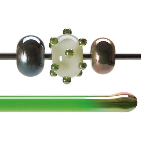 Green Lustre Rod (1707)-1 lb.-The Glass Underground