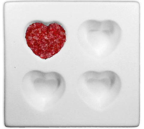 Heart Cube Tray Mold-The Glass Underground
