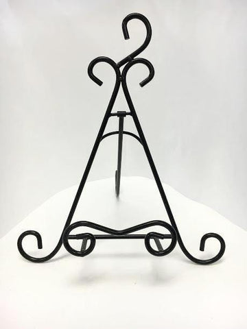 Iron Double Scroll Table Stand-The Glass Underground