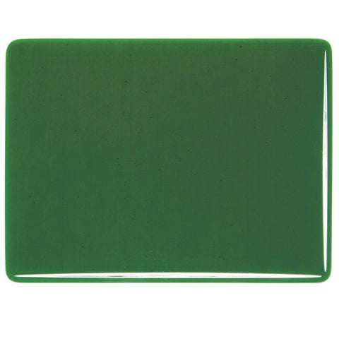 Kelly Green Transparent (1145) 3mm-1/2 Sheet-The Glass Underground