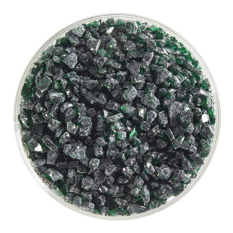 Kelly Green Transparent Frit (1145)-5 lbs.-Coarse-The Glass Underground
