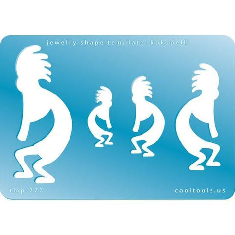 Kokopelli Shape Template-The Glass Underground