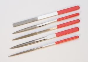 Large Diamond Needle File Set of 5-The Glass Underground