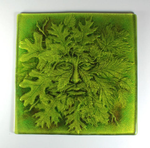 Large Greenman Texture Mold-The Glass Underground