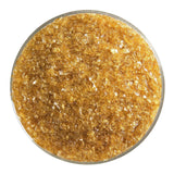 Light Amber Transparent Frit (1437)-5 lbs.-Medium-The Glass Underground