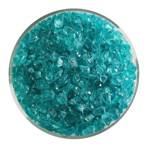 Light Aquamarine Blue Transparent Frit (1408)-The Glass Underground