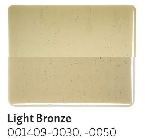 Light Bronze Transparent (1409) 2mm-1/2 Sheet-The Glass Underground