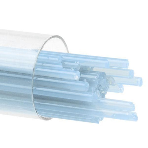 Light Cyan Opal Stringers (216)-2mm-Tube-The Glass Underground