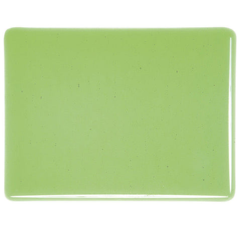 Light Green Transparent (1107) 3mm-1/2 Sheet-The Glass Underground