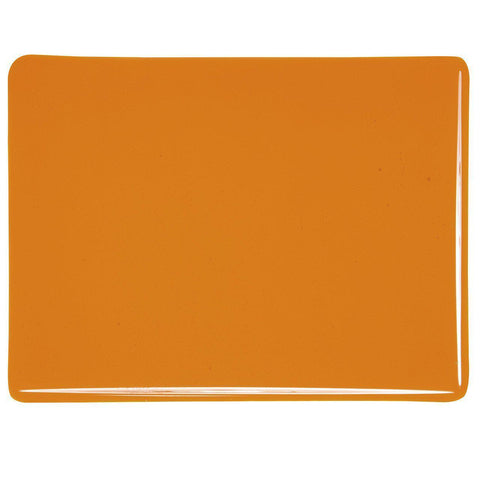 Light Orange Transparent (1025) 3mm-1/2 Sheet-The Glass Underground