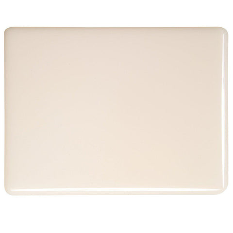 Light Peach Cream Opal (034) 3mm-1/2 Sheet-The Glass Underground
