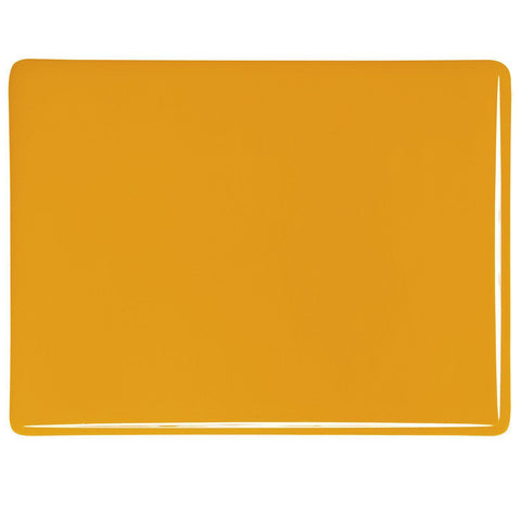 Marigold Yellow Opal (320) 3mm-1/2 Sheet-The Glass Underground