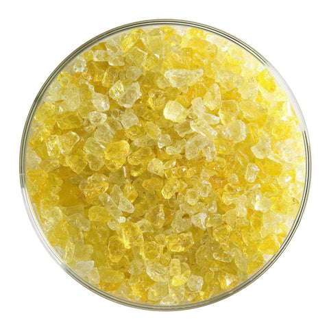 Marigold Yellow Transparent Frit (1320)-The Glass Underground