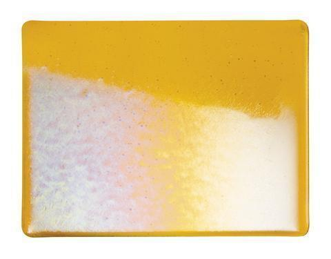 Marigold Yellow Transparent Irid (1320-31) Full Sheet Glass-The Glass Underground