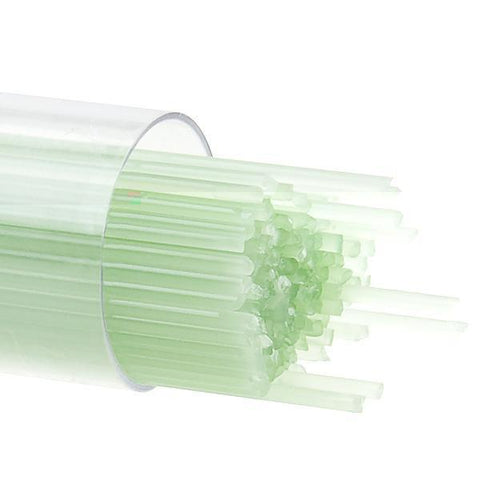 Mint Green Opal Stringers (112)-2mm-Tube-The Glass Underground