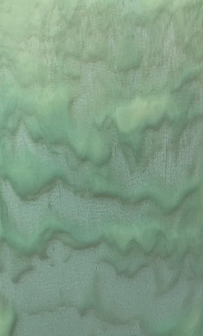 Mint Tint and Cream Cascading Streaky (71206A) 3mm-1/2 Sheet-The Glass Underground