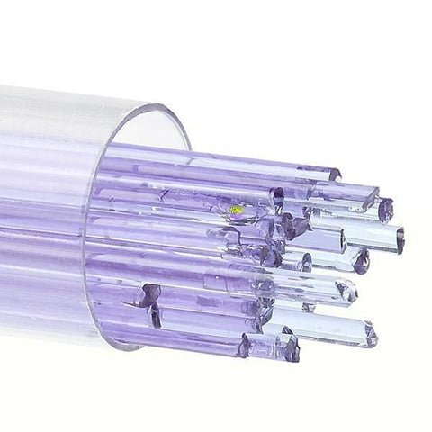 Neo Lavender Transparent Stringers (1442)-2mm-Tube-The Glass Underground