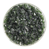 Olive Green Transparent Frit (1141)-5 lbs.-Coarse-The Glass Underground