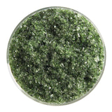 Olive Green Transparent Frit (1141)-5 lbs.-Medium-The Glass Underground