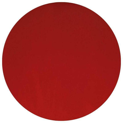 Opal Glass Circles - Red (124)