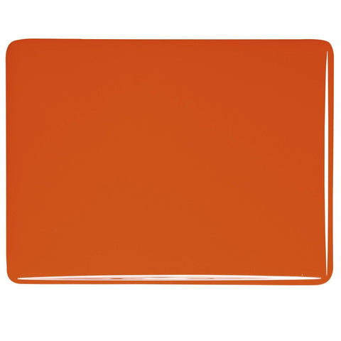 Orange Opal (125) 3mm-1/2 Sheet-The Glass Underground