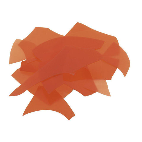 Orange Opal (125) Confetti-4 oz-The Glass Underground