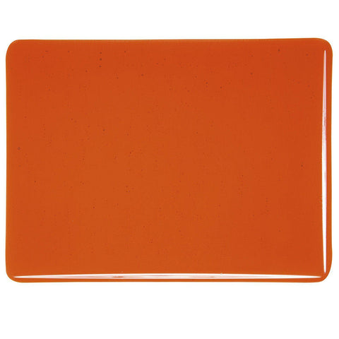 Orange Transparent (1125) 3mm-1/2 Sheet-The Glass Underground
