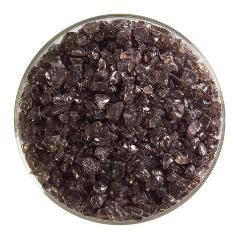 Oregon Gray Transparent Frit (1449)-5 lbs.-Coarse-The Glass Underground