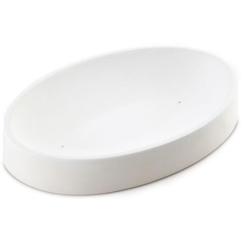 Oval Dish (8536)-Default-The Glass Underground