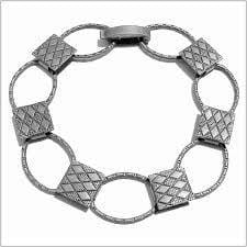 Oval Link Silver Chain Bracelet-The Glass Underground