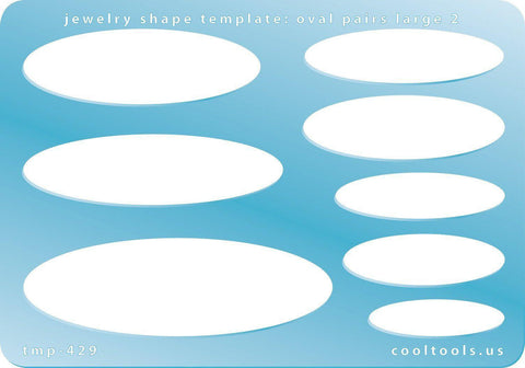 Oval Shape Template-The Glass Underground