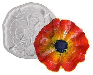 Patty Gray Large Flower Dam Mold-The Glass Underground