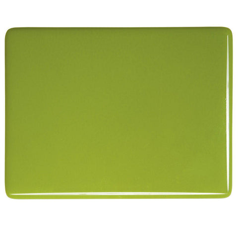 Pea Pod Green (312) 2mm-1/2 Sheet-The Glass Underground