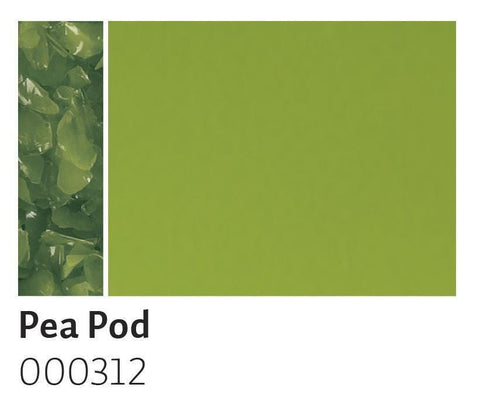 Pea Pod Green Opal Frit (312)-5 lbs.-Coarse-The Glass Underground