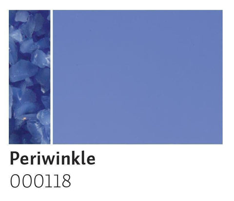 Periwinkle Opal Frit (118)-5 lbs.-Coarse-The Glass Underground