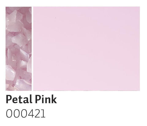 Petal Pink Opal Frit (421)-5 lbs.-Coarse-The Glass Underground