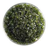 Pine Green Transparent Frit (1241)-5 lbs.-Coarse-The Glass Underground