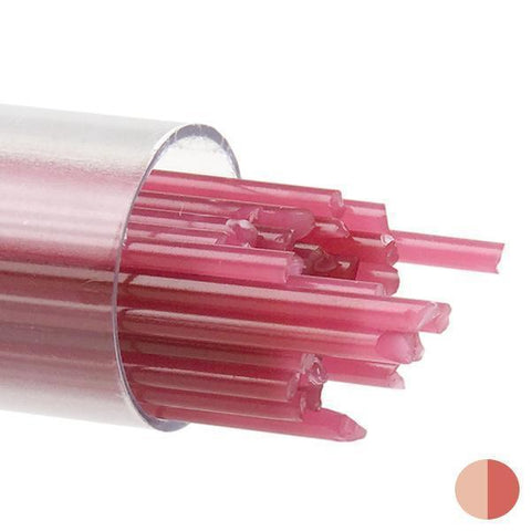 Pink Opal Stringers (301)-2mm-Tube-The Glass Underground