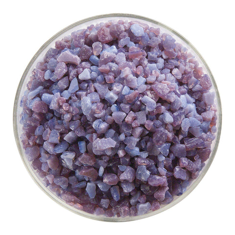 Plum Opal Frit (332)-5 lbs.-Coarse-The Glass Underground