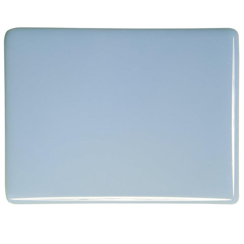 Powder Blue Opal (108) 3mm-1/2 Sheet-The Glass Underground