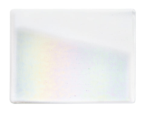 Reactive Ice Irid Transparent (1009) 2mm-1/2 Sheet-The Glass Underground