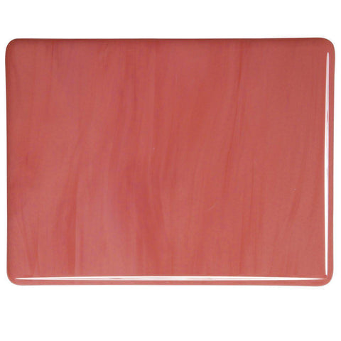 Salmon Pink Opal (305) 3mm-1/2 Sheet-The Glass Underground